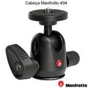 Cabeca Mini Ball Head para tripe - Manfrotto 494 - 4,0Kg