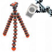 Mini Tripé de Mesa Flexível - TT813 - 26,5cm Vermelho