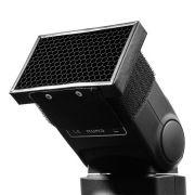 Difusor para Flash Dedicado Speedlight - Colméia HoneyComb - LS12