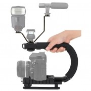 Estabilizador de Filmagem Steadycam DSLR e Video C Shape + Adaptador LS18