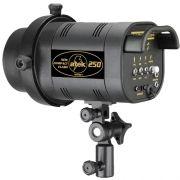 Flash para Estudio Fotográfico - Atek 250 Compact - 250W