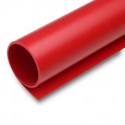Fundo Infinito Fotografico Backdrop de PVC - Vermelho - 100x200 cm