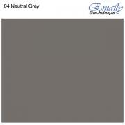 Fundo Infinito Fotográfico de Papel Rolo Cinza Neutral Grey 2,70m x 10m