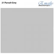 Fundo Infinito Fotográfico de Papel Rolo Cinza Pursuit Grey 2,70m x 10m