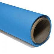 Fundo Infinito Fotográfico de Papel Rolo Light Blue 2,70 x 11m