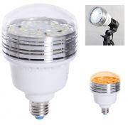 Iluminador de Estúdio Fotográfico Led tipo E27 - 36W