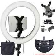 Iluminador Ring Light Led - 48cm 80W - Tablet DSLR Celular