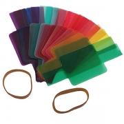 Kit de Filtros Coloridos para Flash Dedicado Speedlight