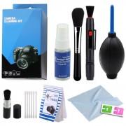 Kit de Limpeza para Camera DSLR e Filmadoras - EC01 - 9 Peças