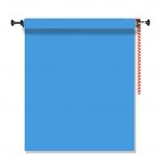 Kit Fundo Infinito Fotográfico de Papel Light Blue 2,70x11m com Suporte Fixo Expan