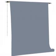 Kit Fundo Infinito Fotográfico de Papel Light Grey 2,70x11m com Suporte Fixo