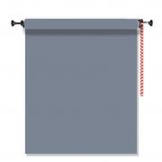 Kit Fundo Infinito Fotográfico de Papel Light Grey 2,70x11m com Suporte Fixo Expan