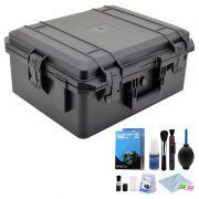 Mala Rigida DSLR - CaseONE YF5040B Foam com Kit de Limpeza EC01