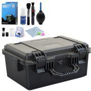 Mala Rigida DSLR - CaseONE YF2133L Foam com Kit de Limpeza EC01