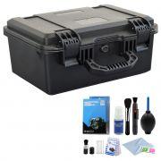 Mala Rigida DSLR - CaseONE YF2838H Foam com Kit de Limpeza EC01