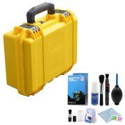 Mala Rigida DSLR - CaseONE YF3020Y Foam com Kit de Limpeza EC01
