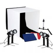 Mini Estudio Fotografico Portatil 60x60x60 - 4x5W LED