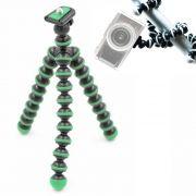 Mini Tripé de Mesa Flexível - TT813 - 26,5cm Verde