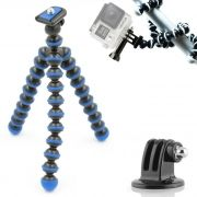 Mini Tripé Flexível GoPro - TT813 - 26,5cm Azul