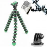 Mini Tripé Flexível GoPro - TT813 - 26,5cm Verde