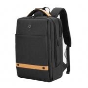 Mochila Notebook até 15.6 com entrada USB - Golden Wolf GB00378 Preto