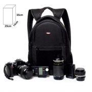 Mochila Câmera DSLR Filmadora - WEST JAMILY - C25xP14xA35cm