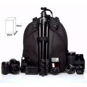 Mochila Câmera DSLR Filmadora - WEST VMBIII - C32xP22xA42cm