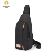 Mochila Tablet 7 entrada Fone Sling Bag - Golden Wolf GXB106 Preto