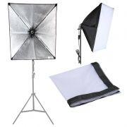 Softbox tipo Sombrinha para Iluminação Continua E27 - 60x90cm