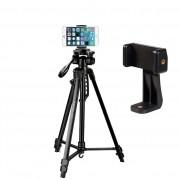 Tripé Digipod TR 564 com Suporte para Smartphone BJ019