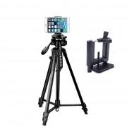 Tripé Digipod TR 564 com Suporte para Smartphone LW105