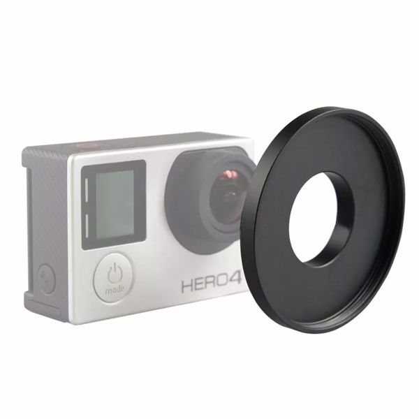 Adaptador De Filtro 52mm Para Gopro Caixa Estanque Hero 3 / Hero 4  - Diafilme Materiais Fotográficos