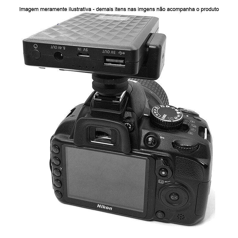Adaptador para Celular Montagem em Tripé Monopé ou Bastão - BJ019  - Diafilme Materiais Fotográficos