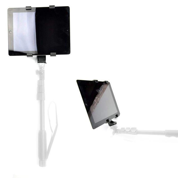 Adaptador Tablet Celular Montagem em Tripé Monopé ou Bastão - SP14  - Diafilme Materiais Fotográficos