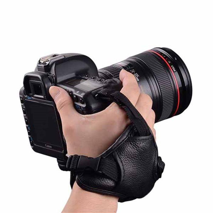 Alça de Mão Hand Grip para Câmera DSLR - SB11  - Diafilme Materiais Fotográficos