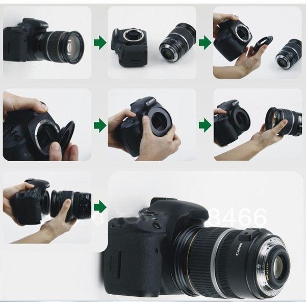 Anel Inversor Canon 67mm - Macrofotografia  - Diafilme Materiais Fotográficos