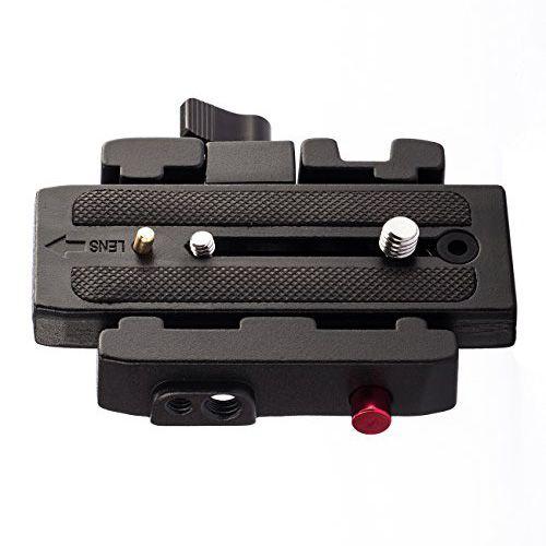 Base com Engate Rapido Tipo Quick Release - QPL-577  - Diafilme Materiais Fotográficos