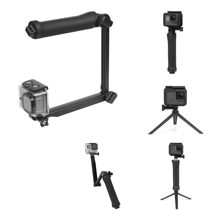 Bastão de Filmagem Articulado para GoPro 3 Way   - Diafilme Materiais Fotográficos