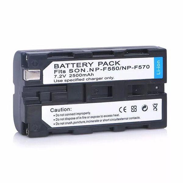 Bateria Li-ion para Iluminador Led - NP F550  - Diafilme Materiais Fotográficos