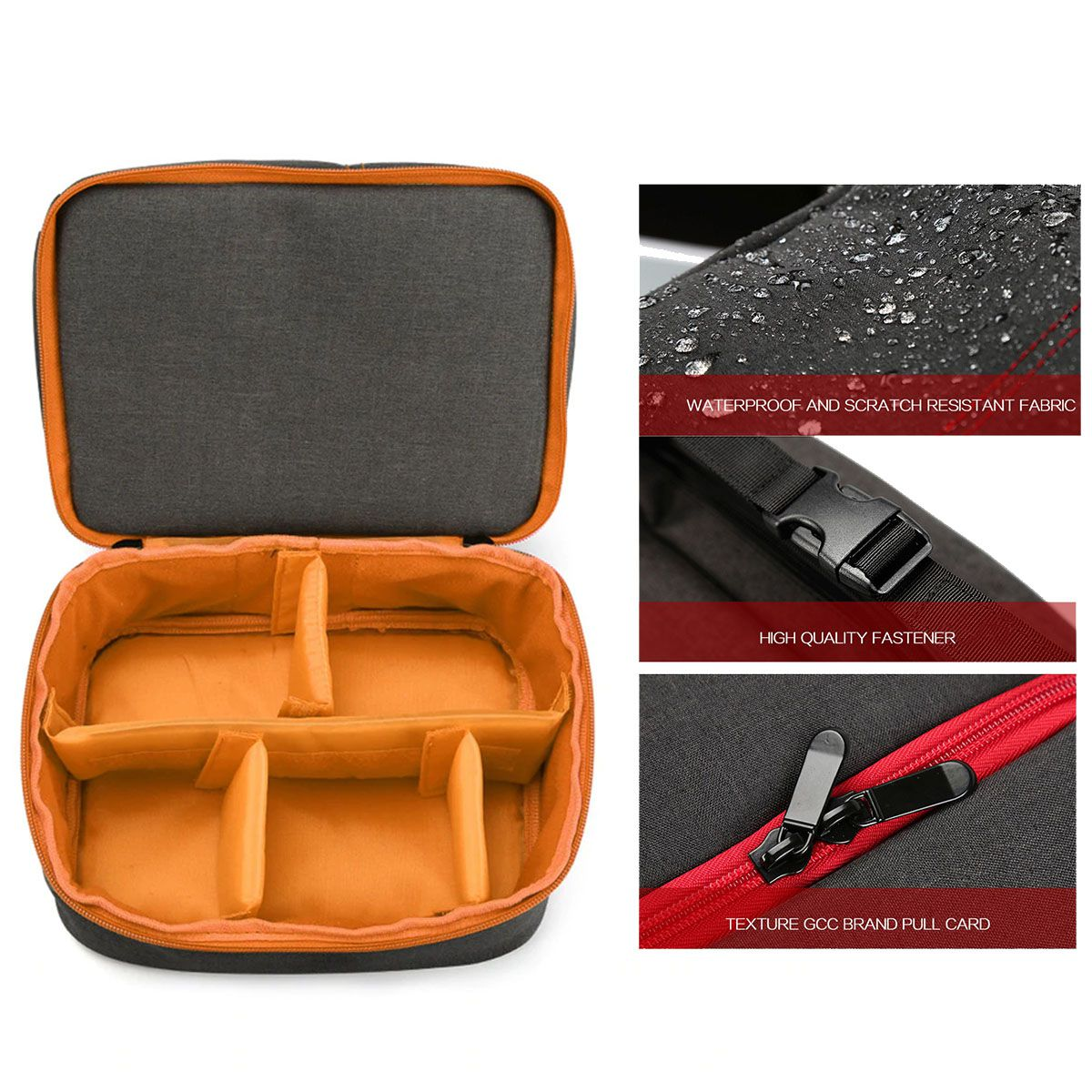 Bolsa Câmera DSLR ou Vídeo - ER 7513 LJ com Kit de Limpeza EC05  - Diafilme Materiais Fotográficos