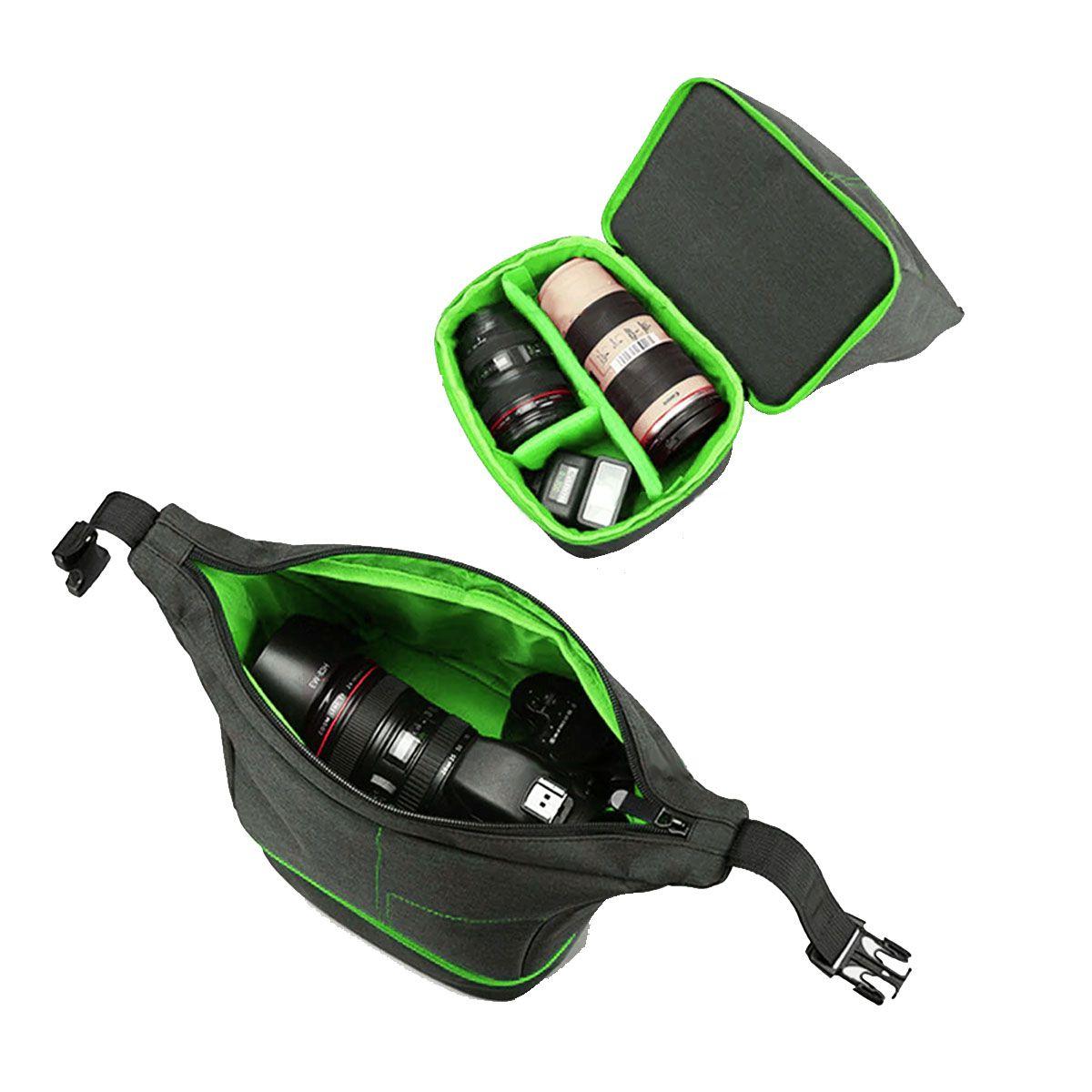 Bolsa Câmera DSLR ou Vídeo - ER 7513 VD com Kit de Limpeza EC05  - Diafilme Materiais Fotográficos