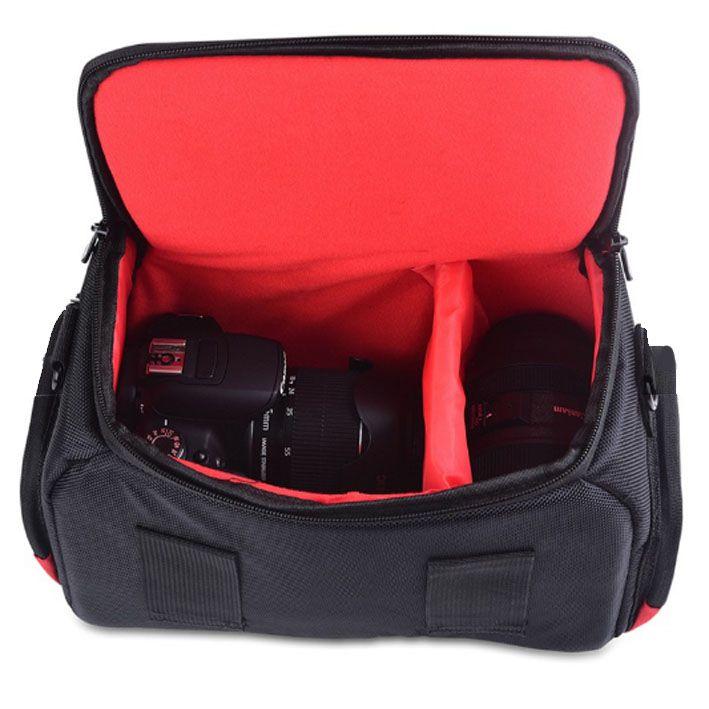 Bolsa de Ombro Câmera DSLR Canon 015M - C29XP17XA18CM  - Diafilme Materiais Fotográficos