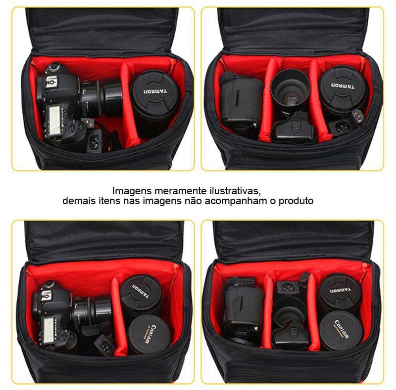 Bolsa de Ombro Câmera DSLR Canon 017M - C26XP17XA17CM  - Diafilme Materiais Fotográficos
