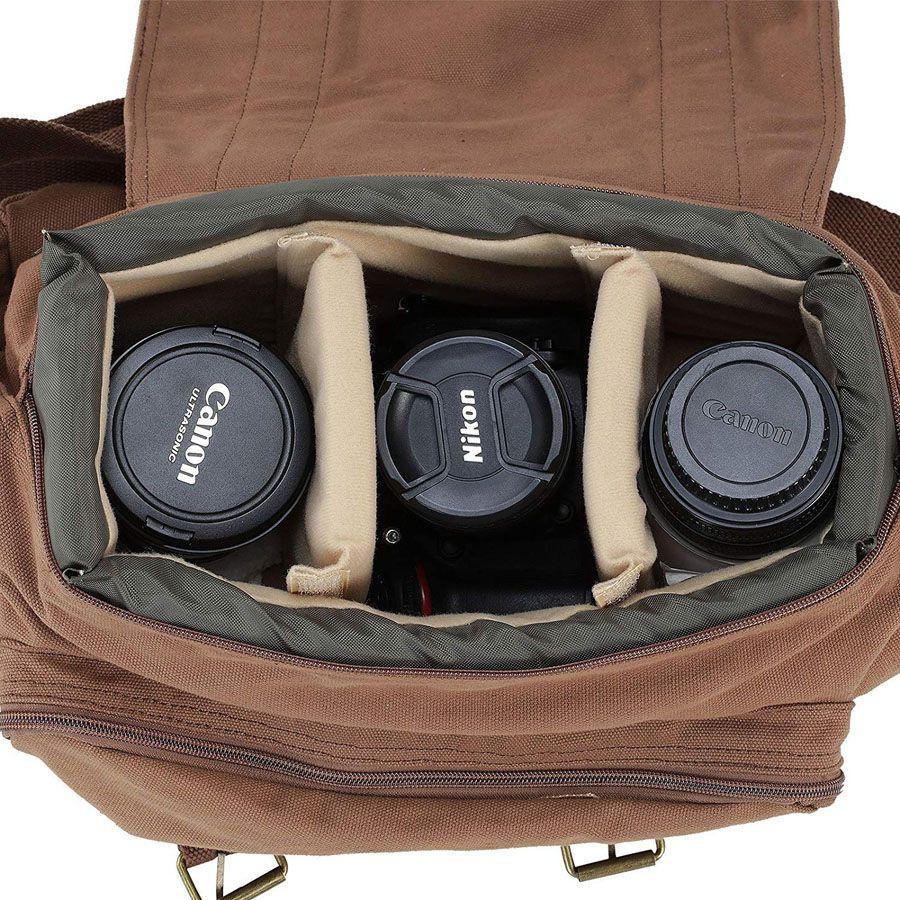 Bolsa de Ombro Câmera DSLR Tablet - Voilamart F1 - C38XP20XA23CM  - Diafilme Materiais Fotográficos