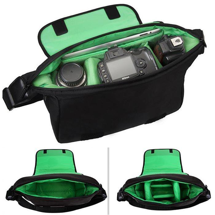 Bolsa de Ombro para Câmera Fotográfica DSLR Tigernu TS8023 - C19XP12XA21CM  - Diafilme Materiais Fotográficos