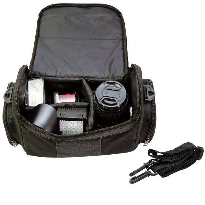 Bolsa para Câmera DSLR ou Vídeo - Easy EZ F 107XL - C27xP15xA18cm  - Diafilme Materiais Fotográficos