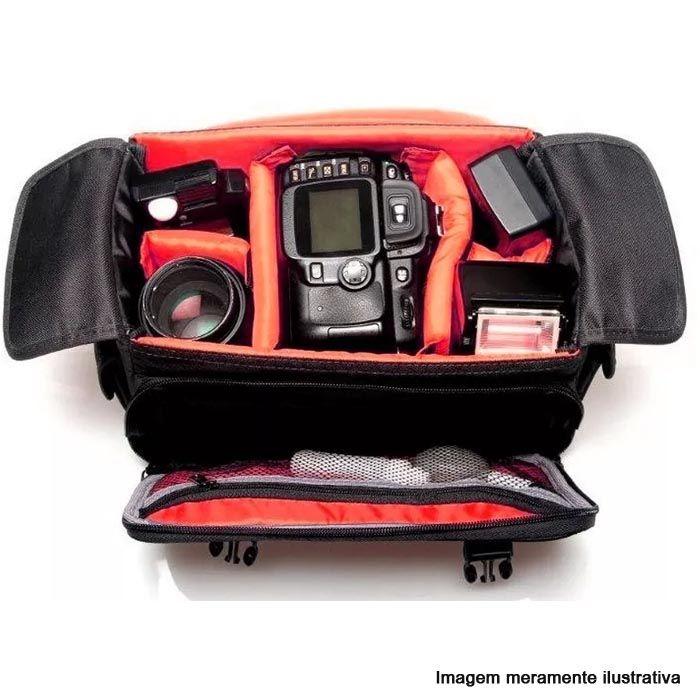 Bolsa para Câmera DSLR ou Vídeo - West Olimpic III - C30xP18xA20cm  - Diafilme Materiais Fotográficos