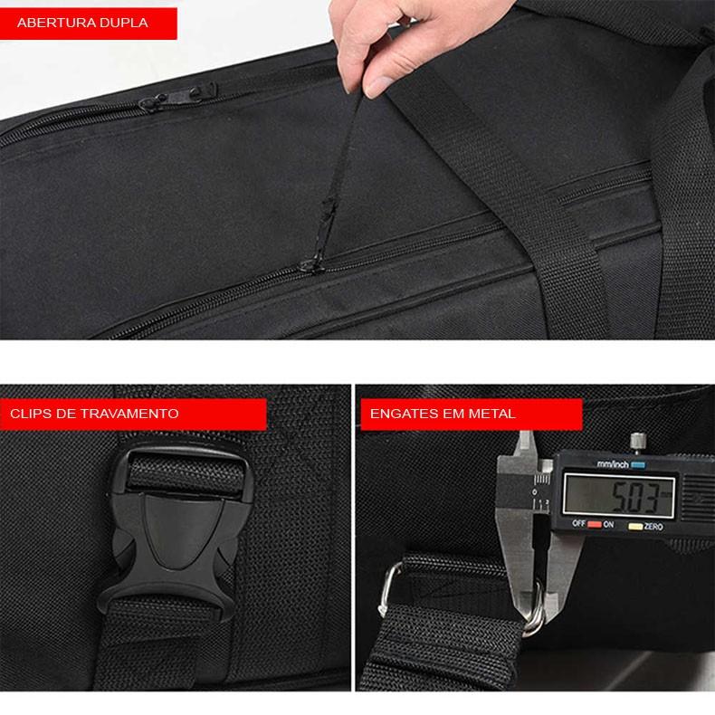Bolsa para Iluminação Estúdio e Tripé - SR-R105 - 25x25x105cm  - Diafilme Materiais Fotográficos