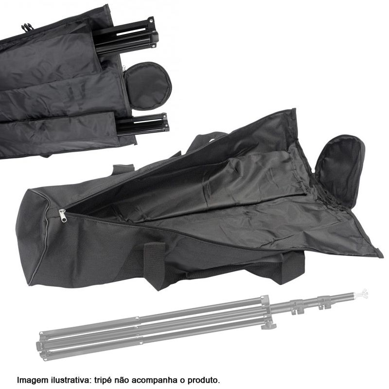 Bolsa para Tripe ou Equip. de Estudio - BAG BT-070 - D19 x 70cm  - Diafilme Materiais Fotográficos