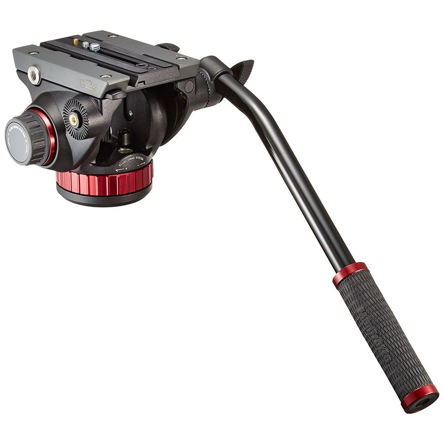 Cabeca Fluida Tripe DSLR Video - Manfrotto MVH502AH Pro Video - 4,0kg  - Diafilme Materiais Fotográficos